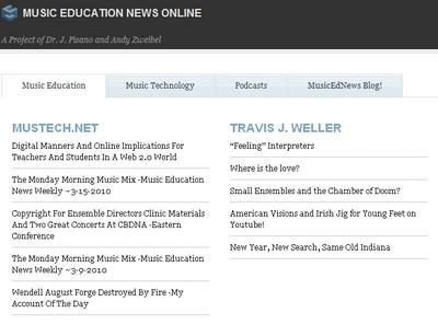 Music Education News Online!